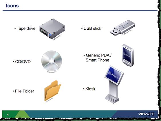 vmware icon library templates